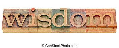 parola, tipo, letterpress, saggezza