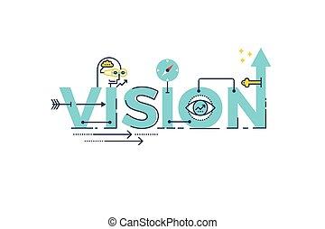 parola, visione, iscrizione