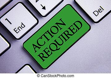 parole, testo, segno, due, needed, computer., foto, concettuale, esposizione, required., rapido, importante, immediato, chiave, premere, inserto, compito, bottone, grigio, verde, atto, azione