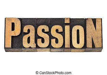 passione, legno, tipo