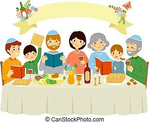 passover, vigilia, famiglia