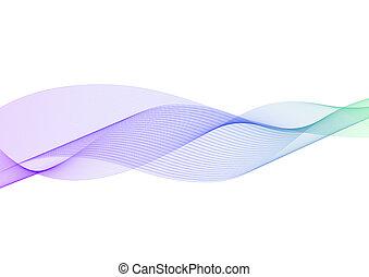 pastello, strato, astratto, curva, multicolor, fondo, linea