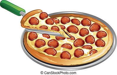 pasto, pizza