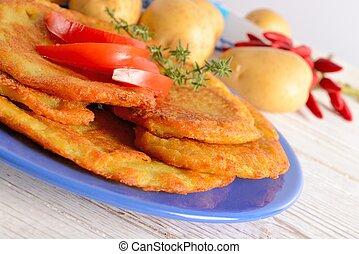 patata, frittella
