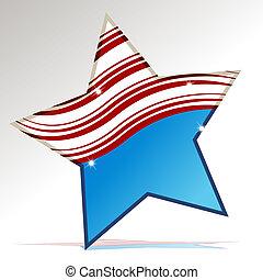 patriottico, stella