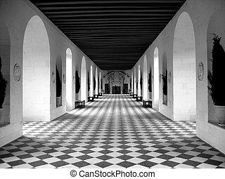 pavimento scacchiera
