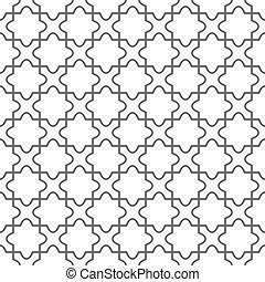 pavimento, semplice, modello, -, vettore, geometrico