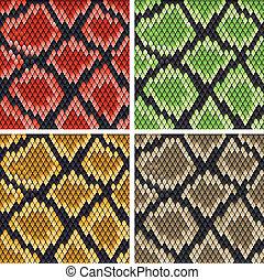 pelle serpente