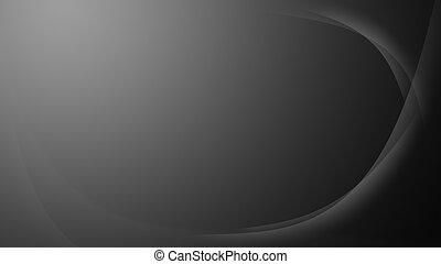 pendenza, ondulato, grigio, fondo