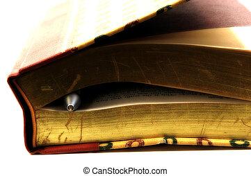 penna, 2, libro