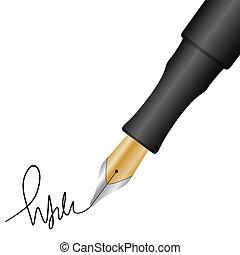 penna, firma