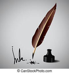 penna, penna inchiostro