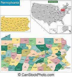 pennsylvania progettano