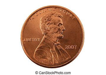 penny, isolato, ci