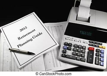 pensionamento, 2012, pianificazione, 2, guida