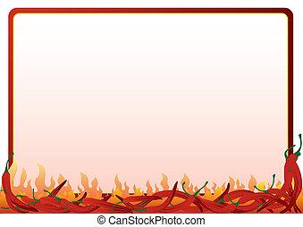 pepe caldo, rosso