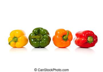 peperoni, bianco, assortito