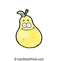 pera, cartone animato