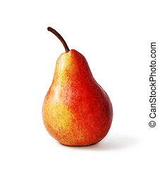 pera, rosso