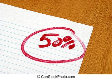 percento, cinquanta