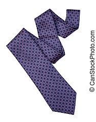 percorso, ritaglio, cravatta