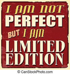 perfetto, limitato, manifesto, ma, edizione, non