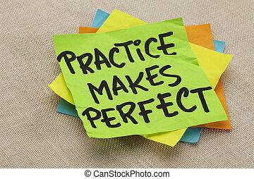 perfetto, pratica, marche