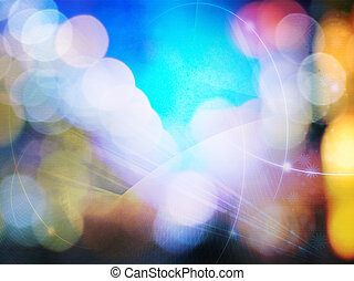 perfetto, spazio, testo, astratto, -, o, fondo, immagine, galassia