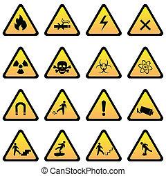 pericolo, avvertimento firma