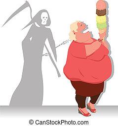 pericoloso, dieta