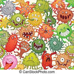 pericoloso, microrganismi