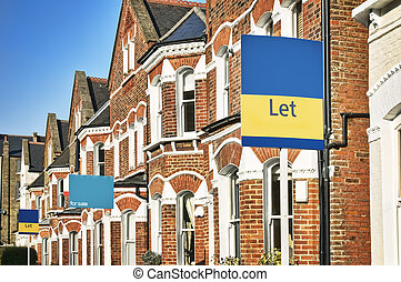 permettere, london., proprietà