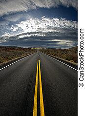 perso, versione, -, autostrada, verticale