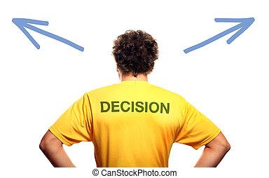 persona a cui spetta il potere decisionale