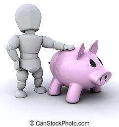 persona, banca piggy
