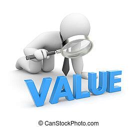 persona, esamina, valore