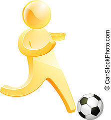 persona, football calcio