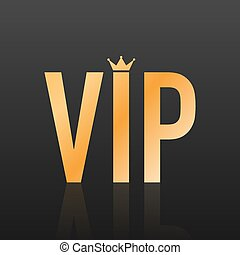 persona, vettore, glow., illustration., etichetta, luminoso, simbolo, esclusività, importante, molto, -, vip, scuro, segno, fondo, dorato, glitter., esclusività, icona