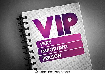 persona, vip, molto, importante, acronimo, -