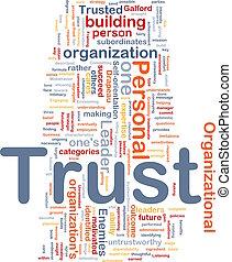 personale, fiducia, concetto, fondo
