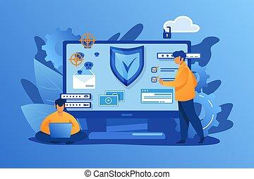 personale, sicurezza, digitale