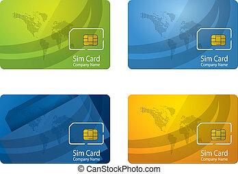 personalized, sim, scheda