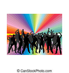 persone, ballo