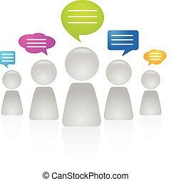 persone, comunicare