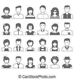 persone, icona