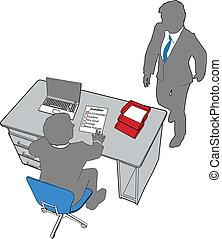 persone ufficio, valutazione, risorse, umano, affari