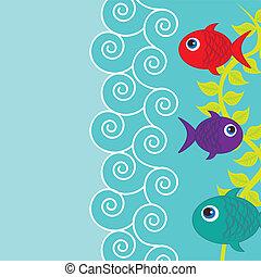 pesci, carino