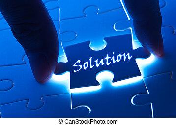 pezzo enigma, parola, soluzione