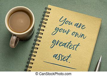 più grande, tuo, inspirational, proprio, bene, nota, lei
