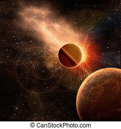 pianeta, anelli